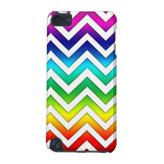 Rainbow Gradient Chevron iPod Touch 5G Cases