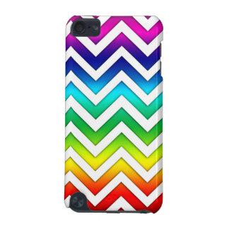 Rainbow Gradient Chevron iPod Touch 5G Cases