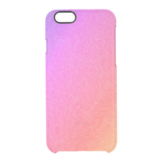 Rainbow Gradient Clear iPhone 6/6S Case