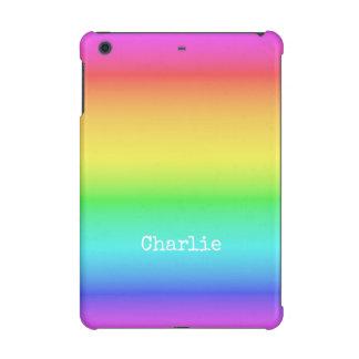 Rainbow Gradient custom name device cases