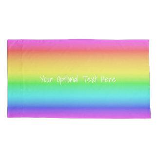 Rainbow Gradient custom pillowcases