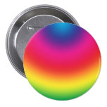 Rainbow Gradient - Customised Rainbows Template 7.5 Cm Round Badge