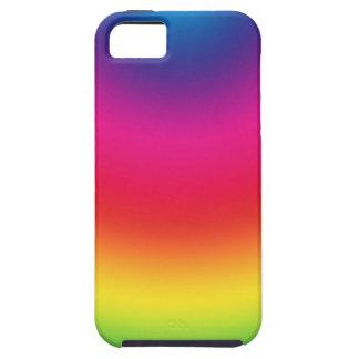 Rainbow Gradient - Customized Rainbows Template Tough iPhone 5 Case