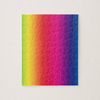 Rainbow Gradient Jigsaw Puzzle