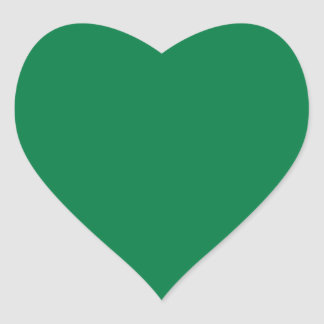 Rainbow Green Heart Sticker