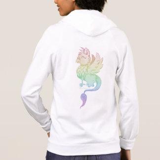 Rainbow Griffin Women's Zip Up Hoodie