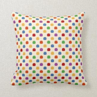 Rainbow Gumdrops Throw Cushions