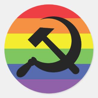 Rainbow Hammer & Sickle Sticker
