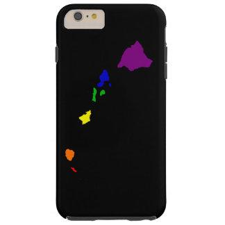 Rainbow Hawaii Tough iPhone 6 Plus Case