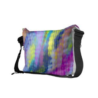 Rainbow haze commuter bag