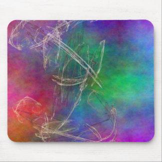 Rainbow Haze Mouse Pad