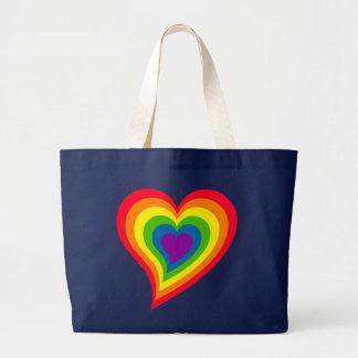 Rainbow Heart bag