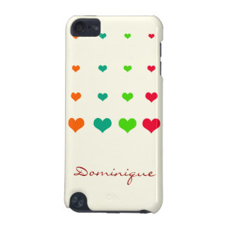 Rainbow Heart iPod Touch (5th Generation) Case