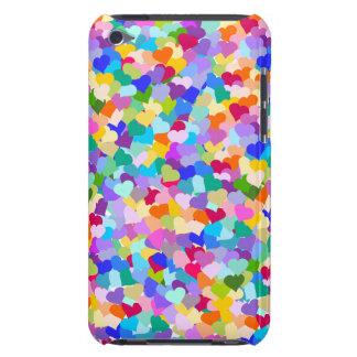 Rainbow Heart Confetti Case-Mate iPod Touch Case