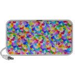 Rainbow Heart Confetti iPod Speaker