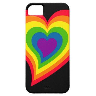 Rainbow Heart iPhone 5 Case-Mate