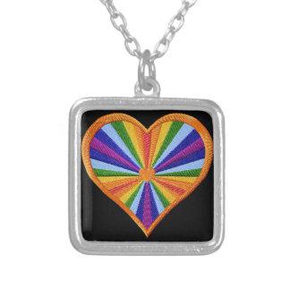 Rainbow Heart Pendant