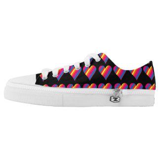 Rainbow Heart Sneakers