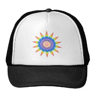 Rainbow Heart Star Cap
