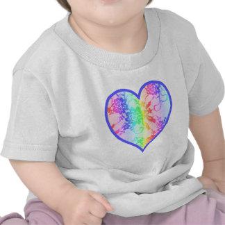 Rainbow Heart Tees