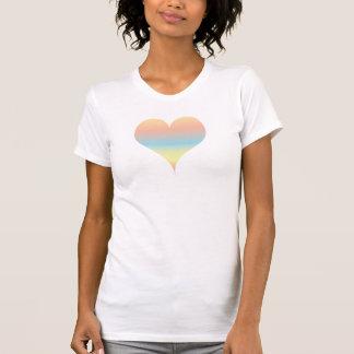 Rainbow Heart Women's Tank Top