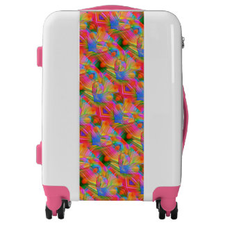 Rainbow Hearts Luggage