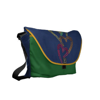 Rainbow Hearts Courier Bags
