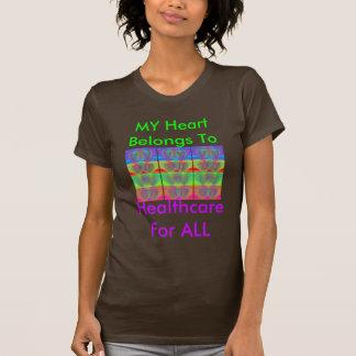 Rainbow Hearts T Shirt