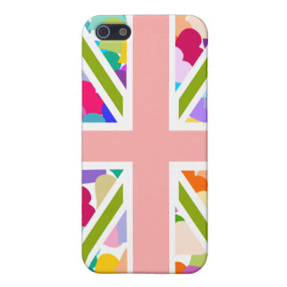 Rainbow Hearts Union Jack iPhone 5/5S Cases