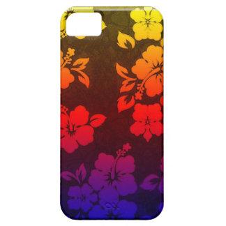 Rainbow Hibiscus iphone 5 case