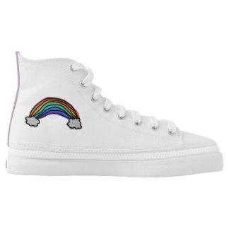 Rainbow High Top Shoes