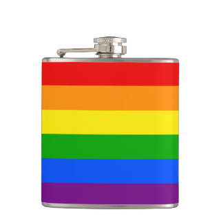"""RAINBOW"" HIP FLASK"