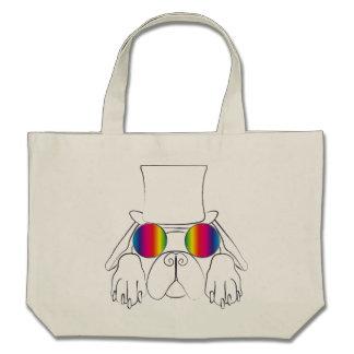 Rainbow Hippie Dog Bags