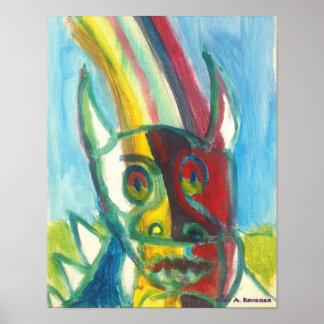 Rainbow Hodag Poster