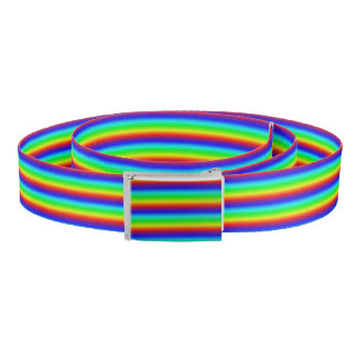 Rainbow honeycomb belt
