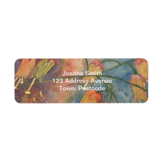Rainbow honeysuckle flowers