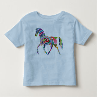 Rainbow Horse Toddler T-Shirt