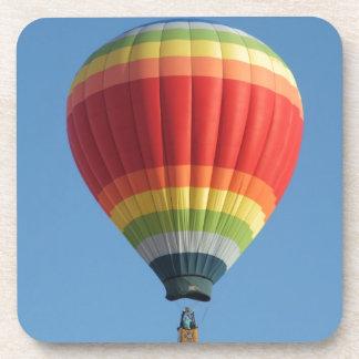 Rainbow Hot air Balloon Drink Coasters