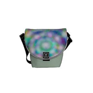 rainbow ice Rickshaw mini messenger bag