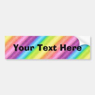 """""""Rainbow Ices"""" Bumper Sticker"""