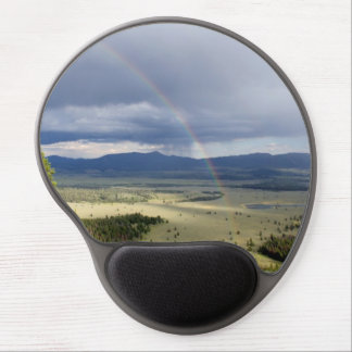 Rainbow in Grand Teton National Park Gel Mouse Pad