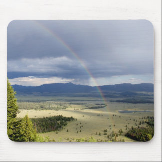 Rainbow in Grand Teton National Park Mouse Pad
