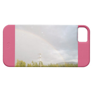 Rainbow In Idaho iPhone Case Case For The iPhone 5
