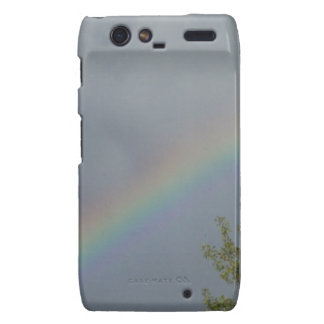 Rainbow in the Clouds Droid RAZR Covers
