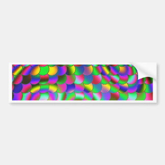 Rainbow in the morning C Bumper Sticker