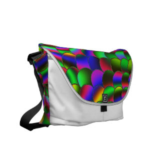Rainbow in the Morning C Messenger Bags