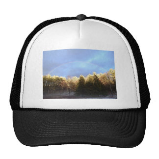Rainbow in the Mountains Cap