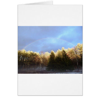 Rainbow in the Mountains Card
