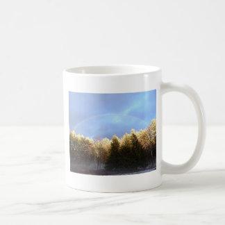 Rainbow in the Mountains Coffee Mug
