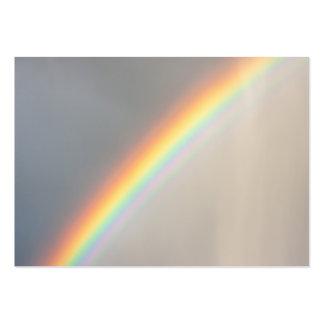 Rainbow in the Rain Business Card Templates